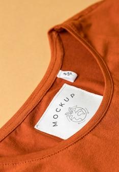 Mockup blouse van dichtbij Gratis Psd