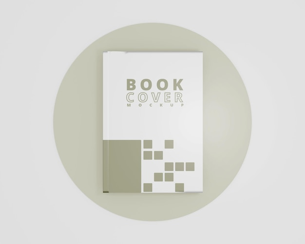 Mockup boek met harde kaft