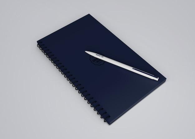 Mockup de bolígrafo para merchandising