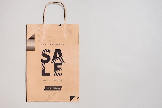 Mockup de bolsa de compra