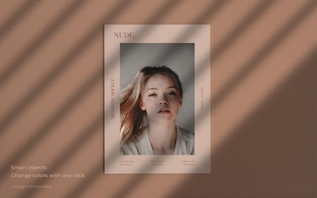 Mockup brochure in stile