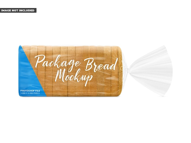 Mockup broodpakket