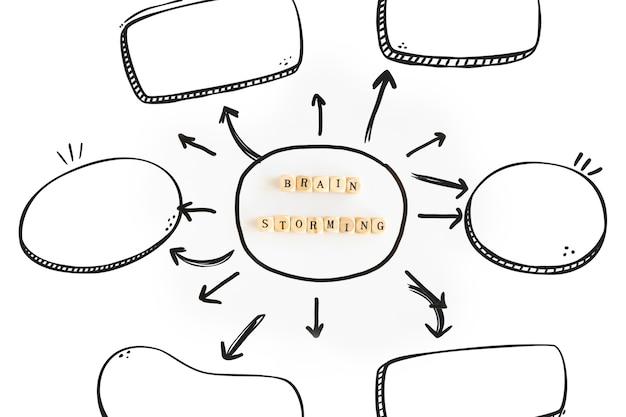 Mockup con concepto de consejos