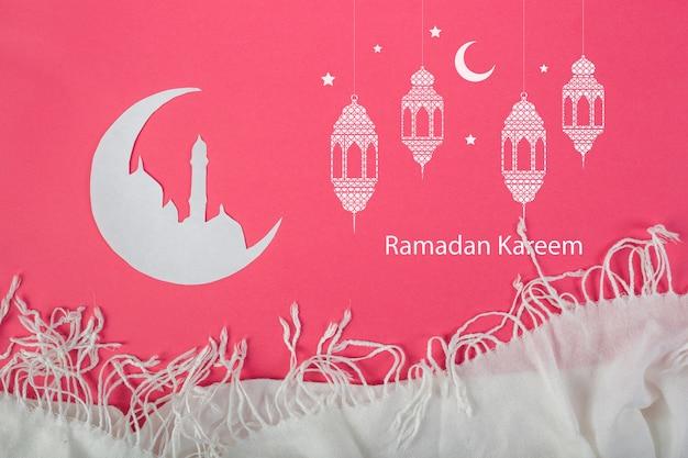 Mockup con concepto ramadán