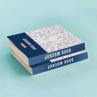 Mockup de cover de libro