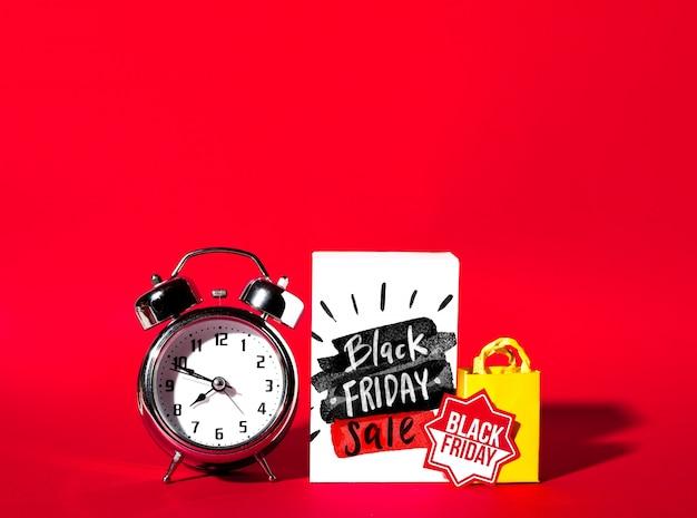 Mockup creativo de black friday