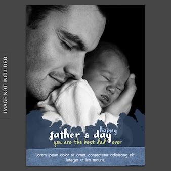 Mockup de cover para el día del padre