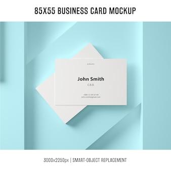 Mockup de tarjeta de negocios