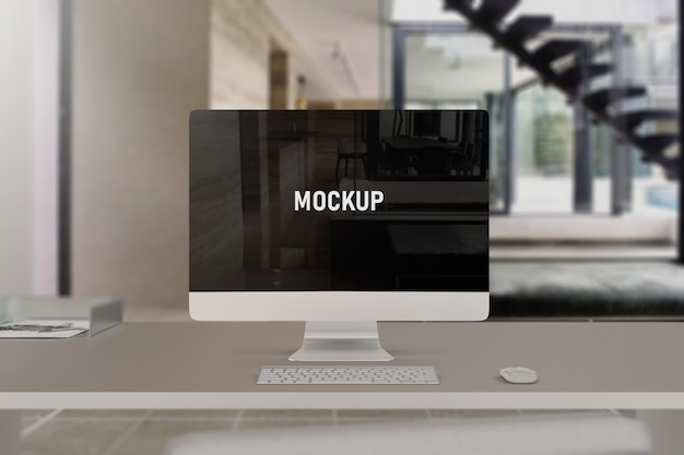 Mockup del computer