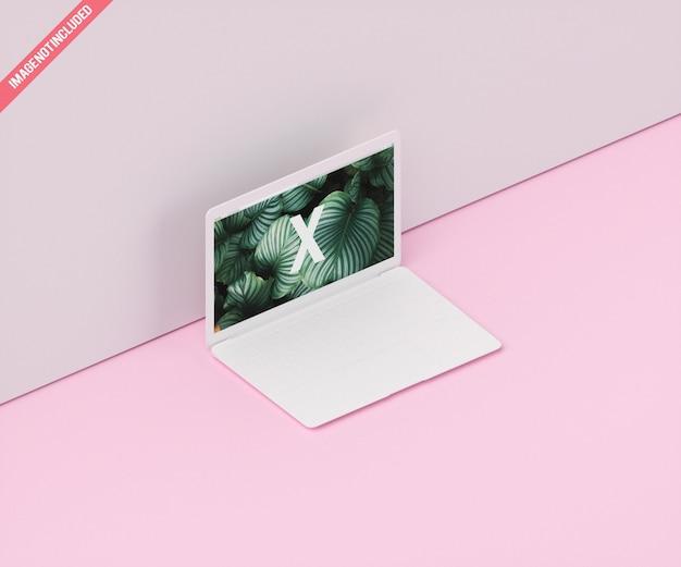 Mockup del dispositivo dello schermo