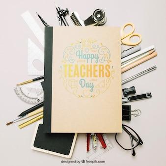 Mockup del giorno degli insegnanti