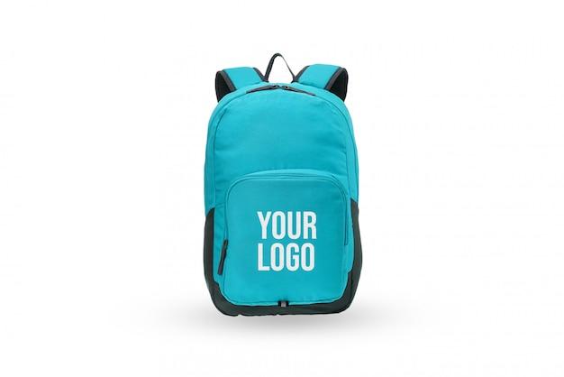 Mockup del marchio del logo della borsa