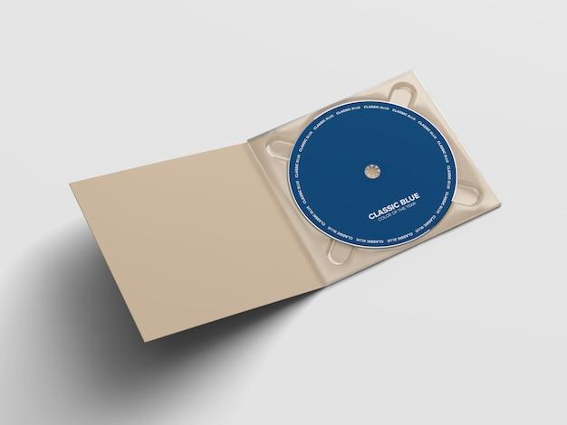 Mockup del pacchetto cd