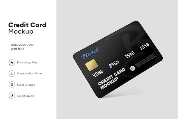 Mockup della carta di credito