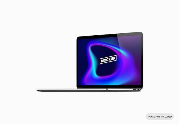 Mockup dello schermo del computer portatile
