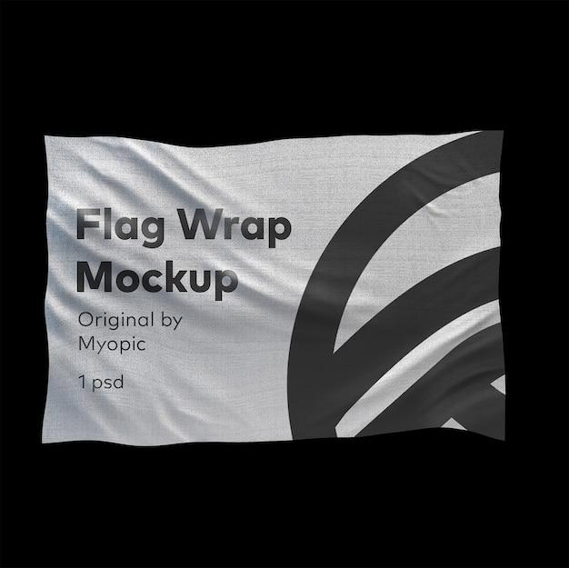 Mockup di bandiera