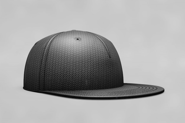 Mockup di berretto da baseball nero