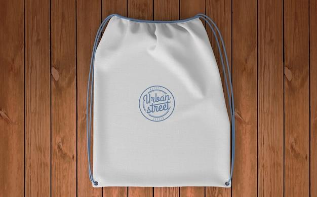 Mockup di borsa per il merchandising