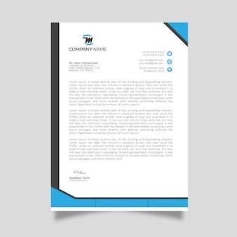 Mockup di carta intestata