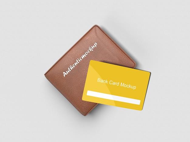 Mockup di carte bancarie