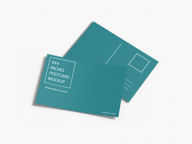 Mockup di cartoline