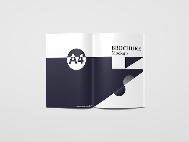 Mockup di catalogo a4