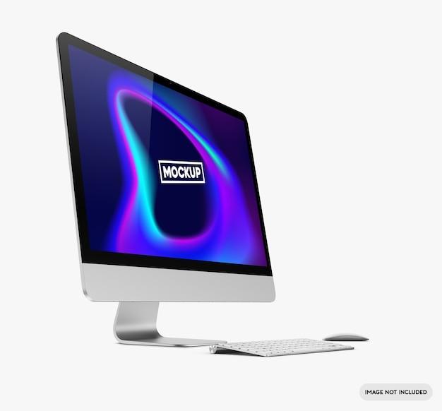 Mockup di computer desktop