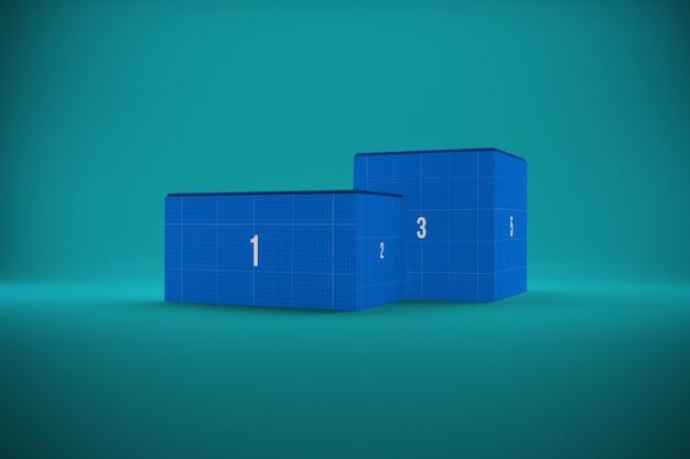 Mockup di due scatole