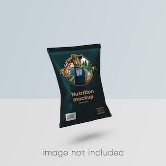 Mockup di imballaggi alimentari