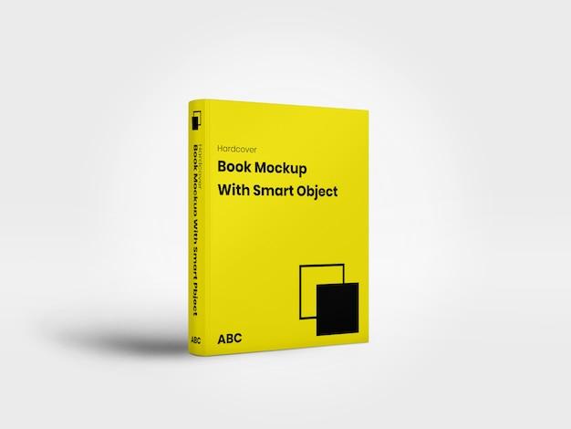Mockup di libri con copertina rigida minimalista