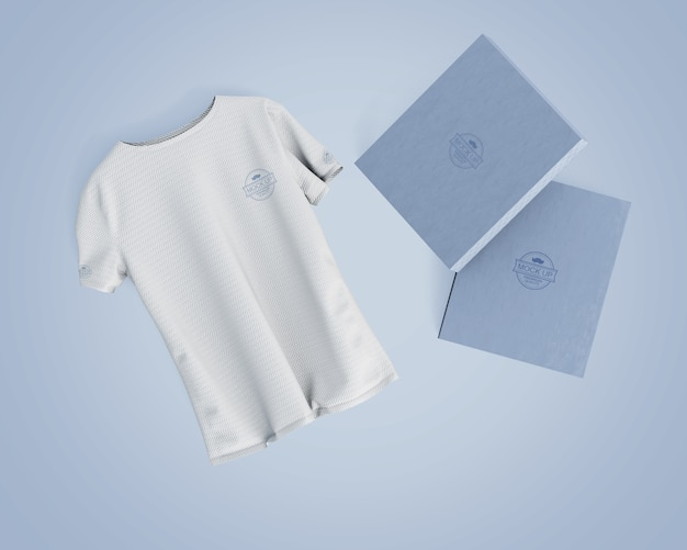 Mockup di maglie sportive con logo del marchio