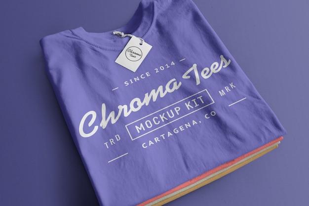Mockup di magliette cromate 8