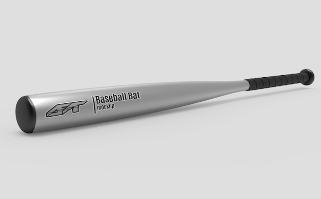 Mockup di mazza da baseball