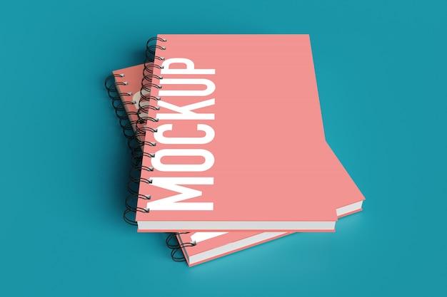 Mockup di notebook per creatore di scene