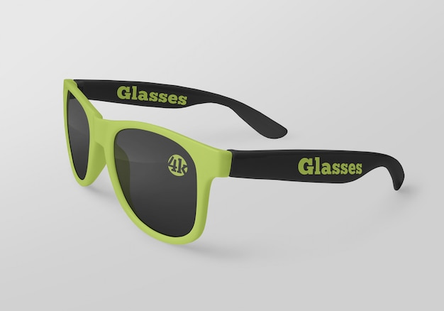 Mockup di occhiali