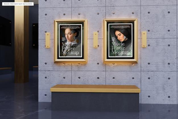 Mockup di poster di film