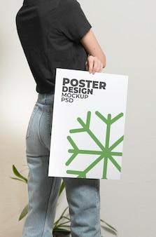 Mockup di poster