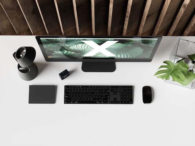 Mockup di scrivania