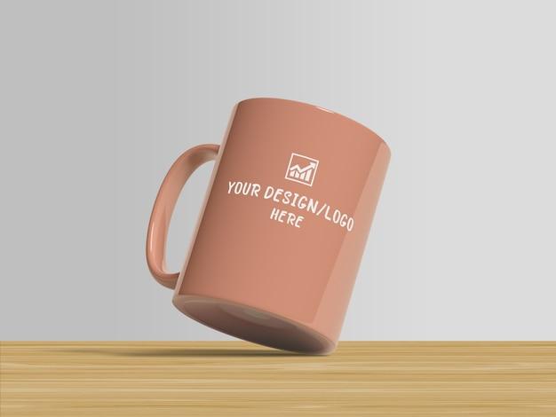 Mockup di tazze da caffè per il merchandising