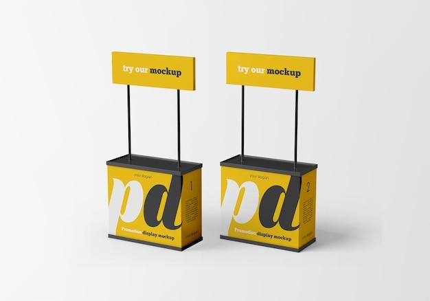 Mockup di visualizzazione della promozione