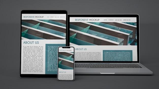 Mockup de dispositivos electrónicos