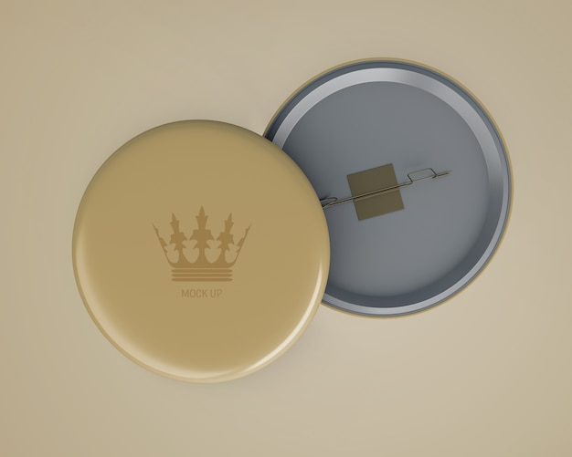 Mockup elegante de etiqueta para merchandising