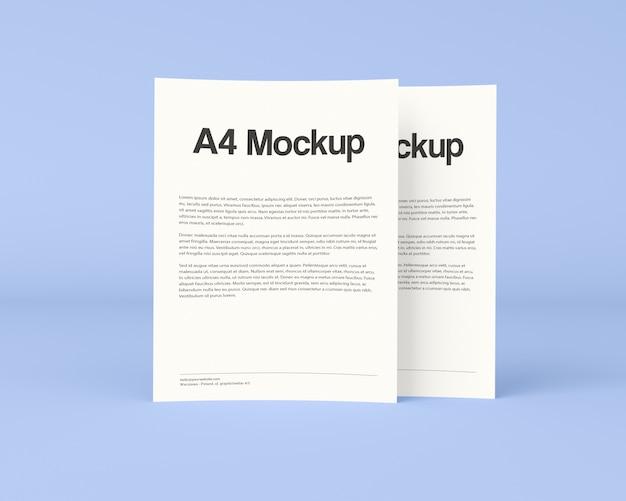 Mockup de folleto de negocios
