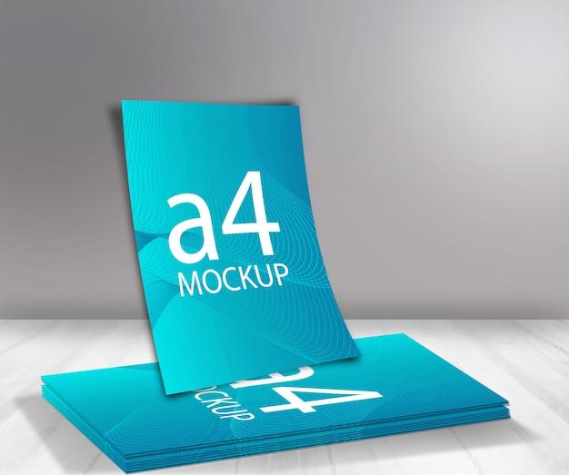 Mockup formato a4
