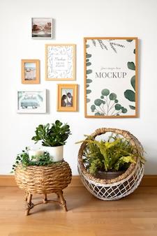 Mockup frame op de muur