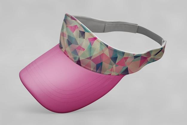 Mockup de gorra de béisbol para mujer