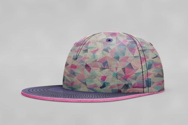Mockup de gorra de béisbol