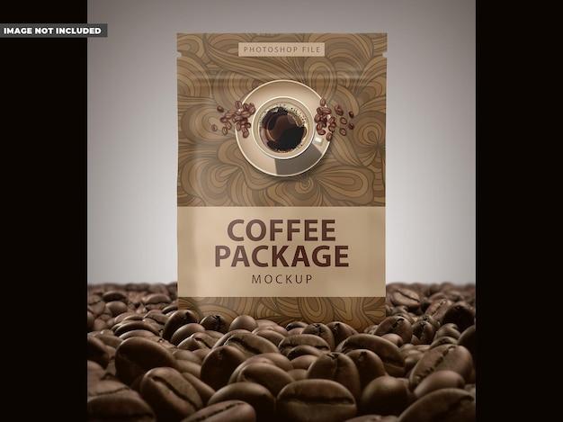 Mockup koffiepakket