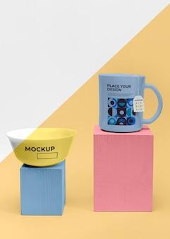 Mockup kopjes thee