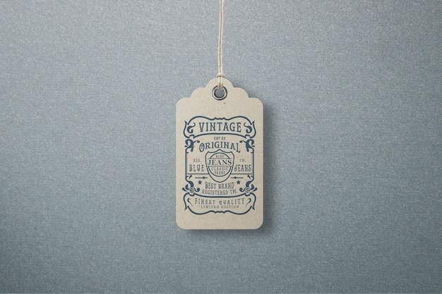 Mockup labellabel